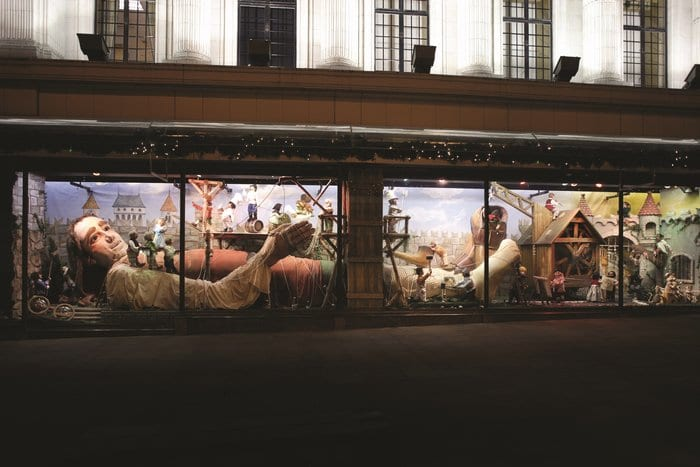 The UK's Biggest Christmas Window Display Outside Of London – A Magical Moving Display At Fenwick Newcastle I Love Newcastle