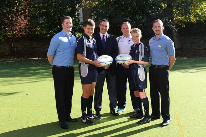 School Tackling Health Agenda Thanks To Hospital's Rugby Team Sponsorship I Love Newcastle