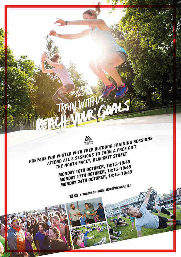 Get Involved With The North Face Mountain Athletics Sessions I Love Newcastle