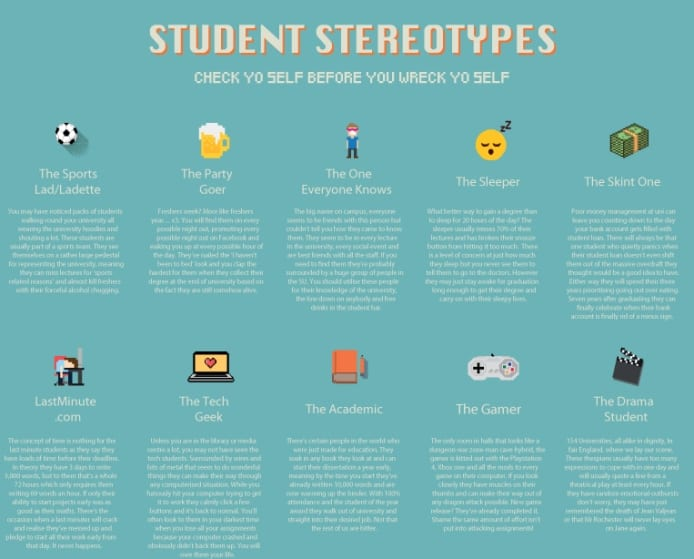 Which Student Stereotype Are You? I Love Newcastle