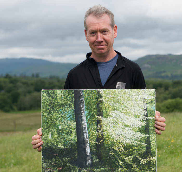 Newcastle Artist Competes In Sky Arts Landscape Artist Of The Year I Love Newcastle