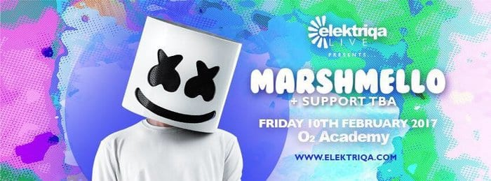 O2 Academy Newcastle Presents 'MARSHMELLO' I Love Newcastle