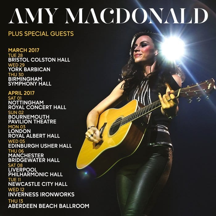Amy Macdonald Included Newcastle City Hall In 2017 Tour I Love Newcastle