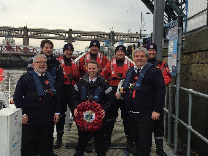 Maritime Volunteers To Pay Respects Afloat I Love Newcastle