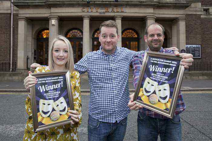 Comedy Writers Winning Sketch Will Draw The Crowds I Love Newcastle
