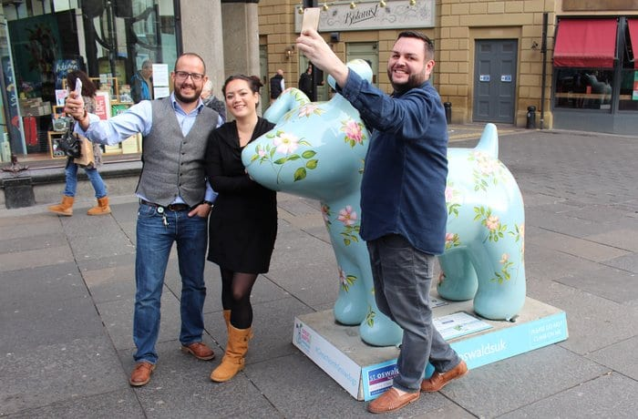 Snowdog Proves Another Photo Opportunity For The Botanist I Love Newcastle