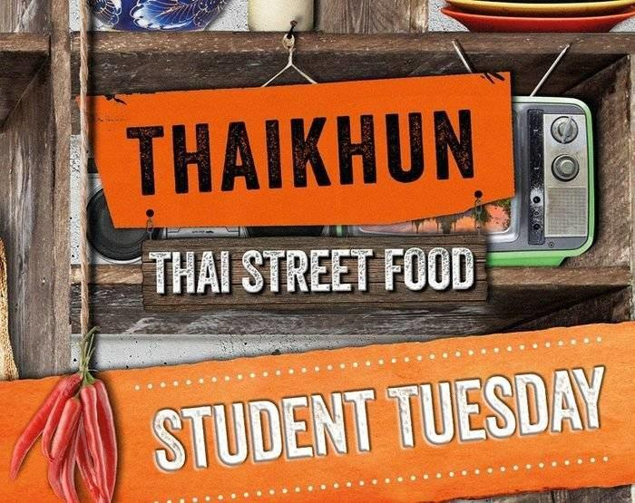 Student Tuesday At Thaikhun I Love Newcastle