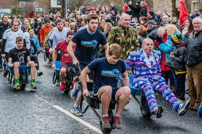 Ponteland Barrows On For Charity Effort I Love Newcastle