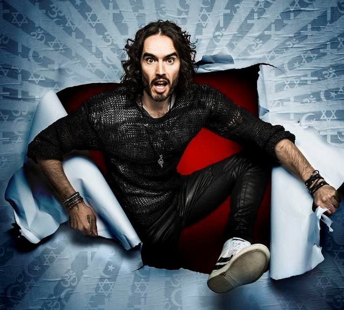 Russell Brand Brings Re:Birth To Newcastle City Hall I Love Newcastle