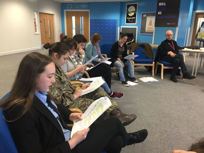 """""""Walker Talk"""" – Aspiring Young Actors Get First Read Through Of New Play I Love Newcastle"""