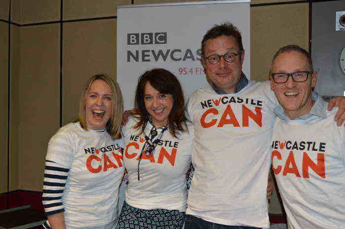 BBC Newcastle Team Sign-Up For Newcastle Can I Love Newcastle