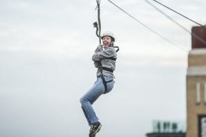 Fast Food Given A Whole New Meaning At 150ft Zip Wire I Love Newcastle