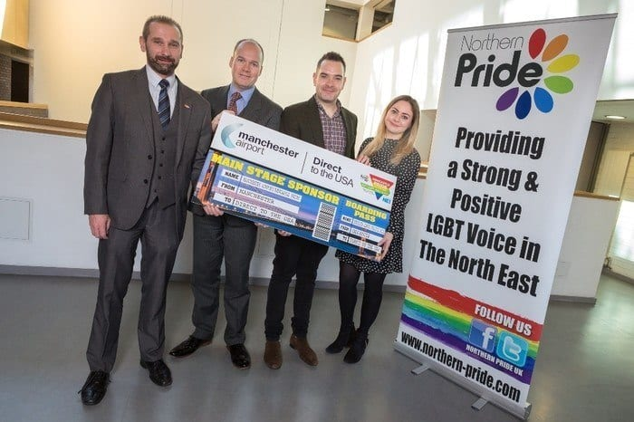 Manchester Airport Takes Off With Newcastle Pride I Love Newcastle