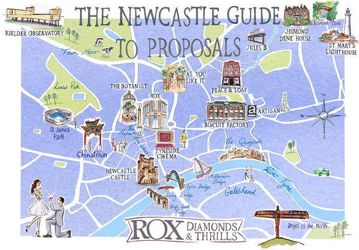 10 Romantic Locations For A Spring Proposal In Newcastle I Love Newcastle