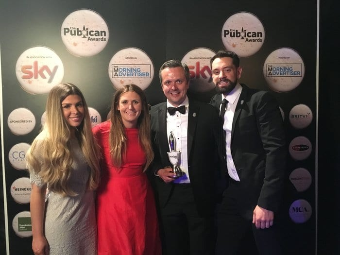 The New World Trading Company Sets New Record At The Publican Awards 2017 I Love Newcastle