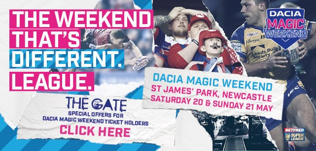 2017 Magic Weekend Offers at The Gate I Love Newcastle
