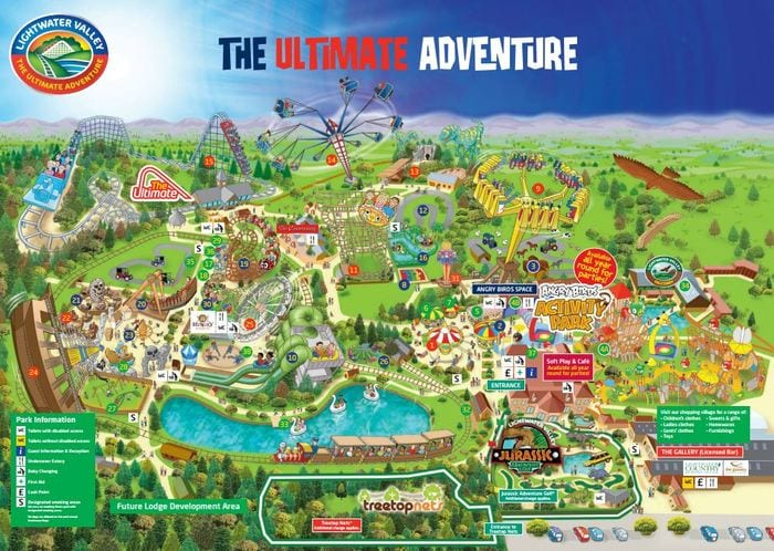Get 50% Off Family Adventures At Lightwater Valley Theme Park I Love Newcastle
