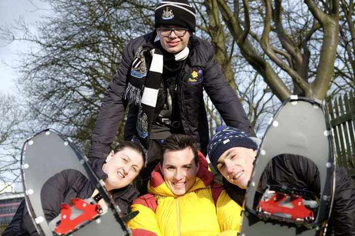 Five To Go Sub-Zero As Charity Takes Youngsters On Once-In-A-Lifetime Trip I Love Newcastle