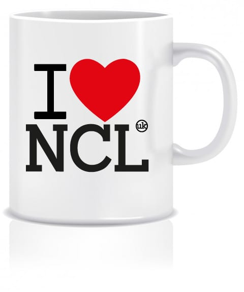 I Love NCL Mug I Love Newcastle