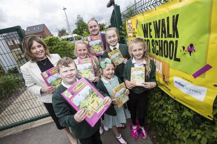 Blyth Pupils Put Their Best Foot Forward For Walk To School Week I Love Newcastle