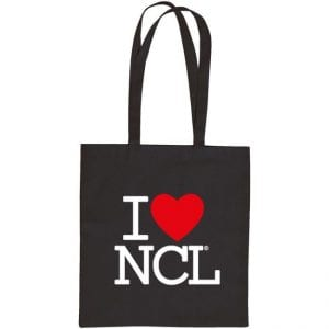 I Love NCL Tote Bag I Love Newcastle