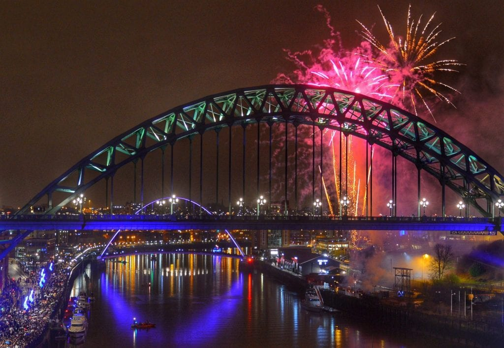 Newcastle's New Year's Eve midnight fireworks announced I Love Newcastle
