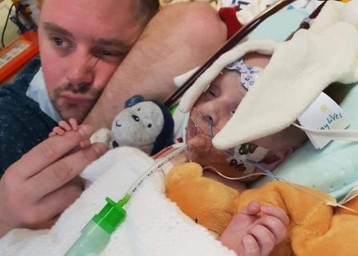 Heartbroken family appeal for heart as their second child fights for life I Love Newcastle