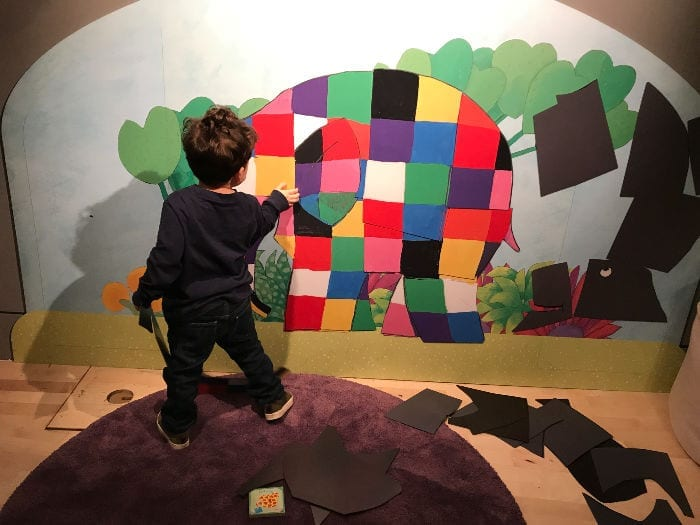 Elmer and friends are the stars of a new exhibition in Newcastle – and the little ones will love it I Love Newcastle