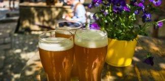 Beer Gardens in Newcastle