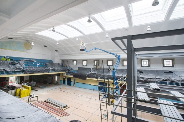 Transformation of historic Newcastle City Pool entering final stages I Love Newcastle