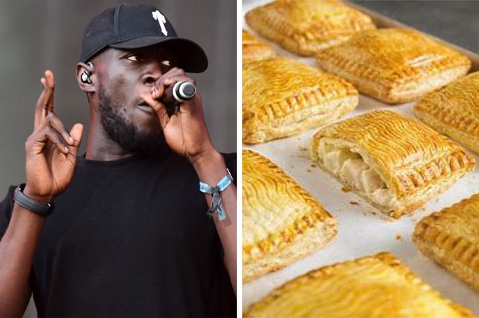Stormzy receives first Greggs 'black card' handing him free pasties for life I Love Newcastle