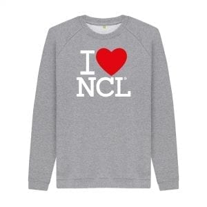 I Love NCL Sweater I Love Newcastle