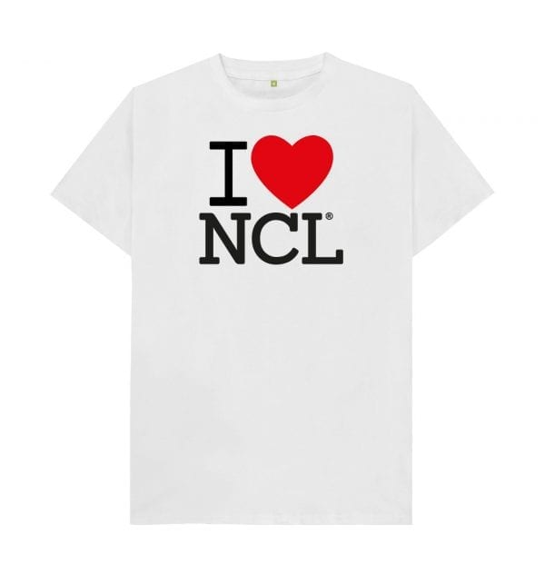 I Love NCL T-Shirt I Love Newcastle