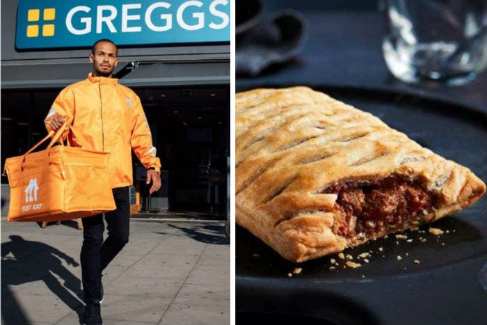 Now you can get Greggs delivered to your door in Newcastle I Love Newcastle
