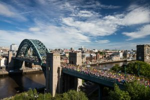 The Great North Run 5k is back - with a brand new Team Challenge for 2021 I Love Newcastle